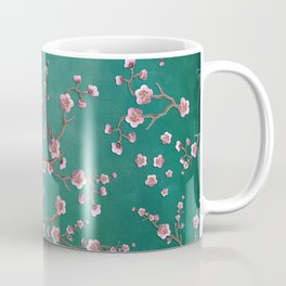 SAKURA LOVE - GREEN Coffee Mug