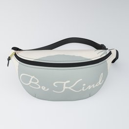 Kind Minimalist Abstract Fanny Pack