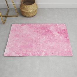 Pink Background Rug