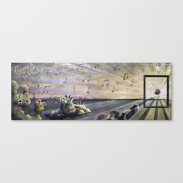 Come & Worship Mural Canvas Print