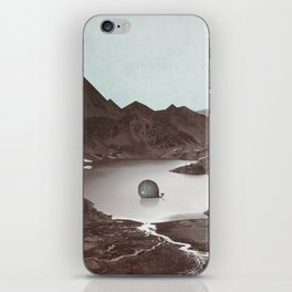 """I don't belong here"" iPhone Skin"
