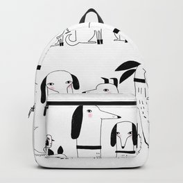 ELEVEN DOGS ONE BIRD Backpack