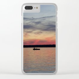 Thousand Islands Sunset Clear iPhone Case