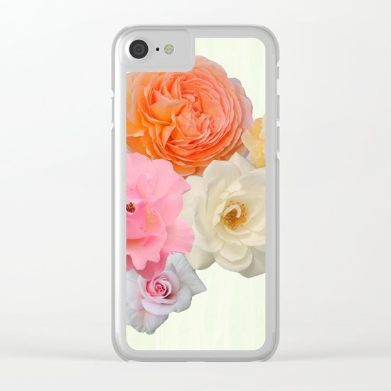 Bear witnes to the beauty Clear iPhone Case