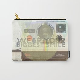 WEAR YOUR BIGGEST SMILE Carry-All Pouch