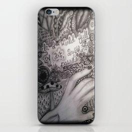 In a world of art.  iPhone Skin