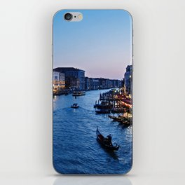Venice at dusk - Il Gran Canale iPhone Skin