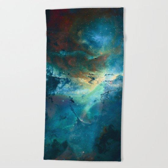 δ Wezen Beach Towel