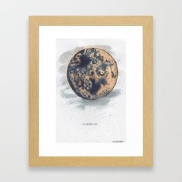 Super Blue Blood Moon 2018 Framed Art Print