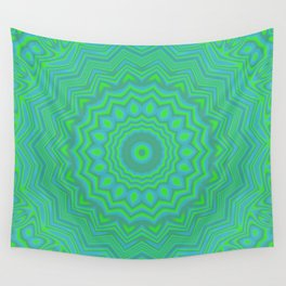 Funky Kaleidoscope 3 Wall Tapestry