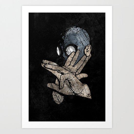 I Know Karate Art Print