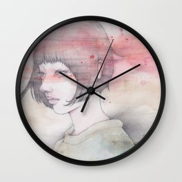 a transparent moment Wall Clock