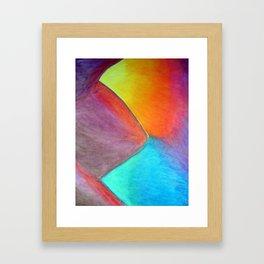 Random 2 Framed Art Print