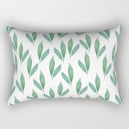floral, leafs Rectangular Pillow