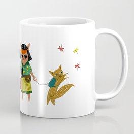 Tourist Cats Coffee Mug