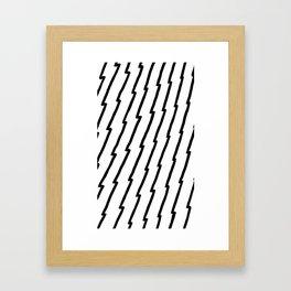 Raw Pattern Series: n.2 Framed Art Print