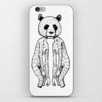 pandas iPhone & iPod Skins featuring Pandas by Benson Koo
