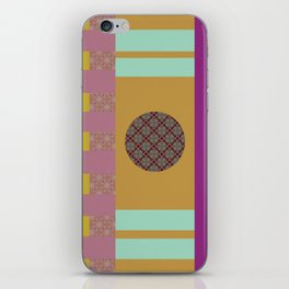 Mix n Match with Circle 2 iPhone Skin
