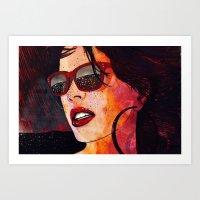 miami Art Prints featuring MIAMI  by Stephan Parylak