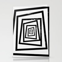 illusion Stationery Cards featuring Illusion by Janet Datu