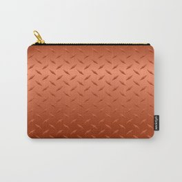 Copper Diamond Plate Carry-All Pouch