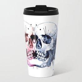 Conjoined Skull Travel Mug