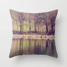 Spring Reflected Throw Pillow