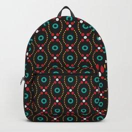 Dot Burst Pattern Backpack