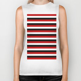Trinidad and Tobago Yemen flag Amsterdam stripes Biker Tank