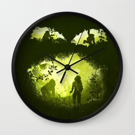 In the Heart of the Jungle Wall Clock
