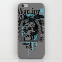 monster inc iPhone & iPod Skins featuring War inc. by Tshirt-Factory