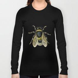 Vintage Bee Illustration Long Sleeve T-shirt