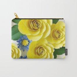 Rosas Amarelas < Arte em papel> Carry-All Pouch