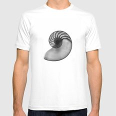 Golden Ratio Mens Fitted Tee White MEDIUM