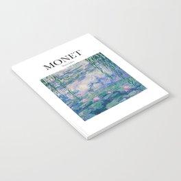 Monet - Water Lilies Notebook