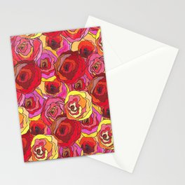 outcast of roses Stationery Cards