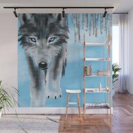 2019 Wolf Calendar Wall Mural