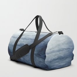 Indigo Abstract Painting | No.2 Duffle Bag