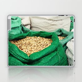 Pumpkin Seeds at the Market Laptop & iPad Skin