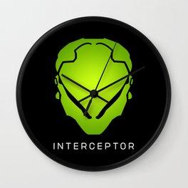 Interceptor Avatar Wall Clock