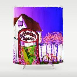 Fontana Organic Farm  Shower Curtain