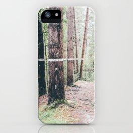 OMAKO BASOA iPhone Case