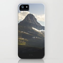 Glacier Mountain iPhone Case