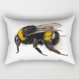 Bumblebee species Bombus terrestris Rectangular Pillow