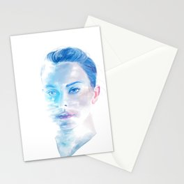 The Girl Who Dreamed of Oceans Stationery Cards