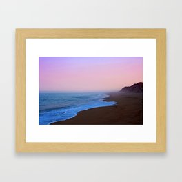 Mist and Sand Framed Art Print
