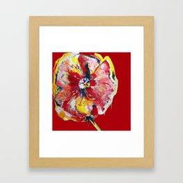 FLOWER WIFEY Framed Art Print