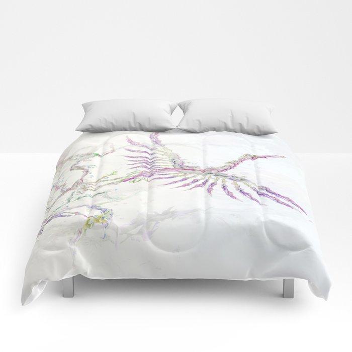 Nature In Technicolor - Crane Comforters