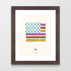 FLAG Framed Art Print