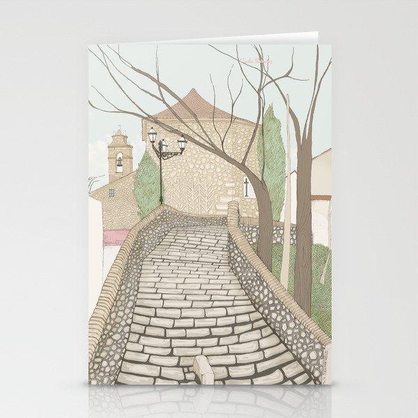 """""""LA PUENTE"""" de Alcañizo Stationery Cards"""